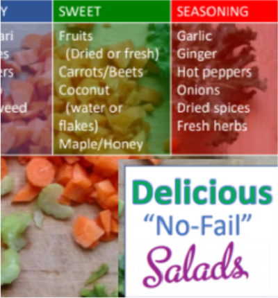 Delicious No Fail Salads