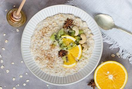 Oatmeal and Fiber